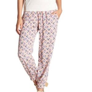 Oat+Fawn Floral pink Jogger pants S